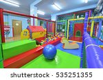 indoor children playground | Shutterstock . vector #535251355