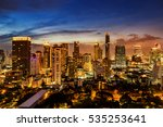 Abstract Urban Skyline...