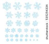 raster illustration. set of... | Shutterstock . vector #535254334