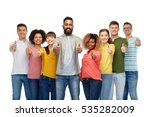 diversity  race  ethnicity and... | Shutterstock . vector #535282009