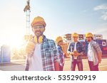 business  building  teamwork ... | Shutterstock . vector #535290919