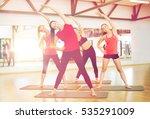 fitness  sport  training  gym... | Shutterstock . vector #535291009
