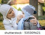ill child | Shutterstock . vector #535309621