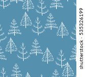 seamless pattern of forest no... | Shutterstock .eps vector #535326199