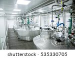 pharmaceutical production of... | Shutterstock . vector #535330705