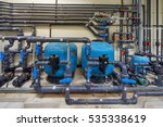 a mechanical electrical pump... | Shutterstock . vector #535338619