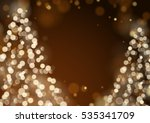 unfocused blurred lights and... | Shutterstock .eps vector #535341709