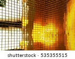 gold square   background colored | Shutterstock . vector #535355515
