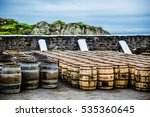 Whisky Barrels By The Sea ...
