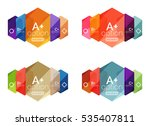 set of vector abstract...
