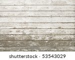 Side Of An Old White Barn  Wit...