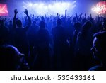 moscow 2 february 2015 concert... | Shutterstock . vector #535433161