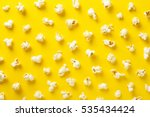 Popcorn Pattern On Yellow...