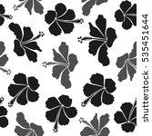 vector seamless pattern of... | Shutterstock .eps vector #535451644