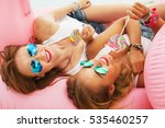 lifestyle close up portrait of... | Shutterstock . vector #535460257