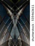 modern architecture fragment... | Shutterstock . vector #535463611