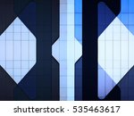 reworked photo of walls with... | Shutterstock . vector #535463617