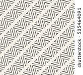 vector seamless pattern. modern ...   Shutterstock .eps vector #535464091