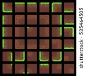 pixel art 8 bit tiles for game  ...