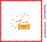 car icon vector illustration. | Shutterstock .eps vector #535469551