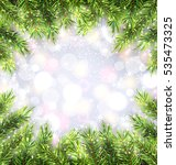 illustration christmas... | Shutterstock .eps vector #535473325