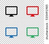 computer  display   vector icon