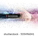 abstract background with noise | Shutterstock .eps vector #535496041