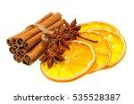 Dried Orange Slices  Cinnamon...