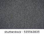 grey carpet polyester texture | Shutterstock . vector #535563835