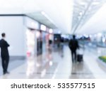 abstract blur airport interior... | Shutterstock . vector #535577515