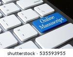 online manuscript on white...