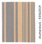 striped fabric swatch  beige... | Shutterstock . vector #53562019