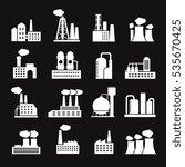 industry manufactory buildings... | Shutterstock . vector #535670425
