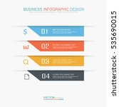 business  infographic  template ... | Shutterstock .eps vector #535690015