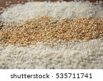 Different Kinds Of Rice...