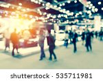 abstract blurred event with... | Shutterstock . vector #535711981