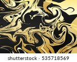 graphic ornament with a marble... | Shutterstock . vector #535718569