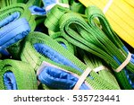 Green Nylon Soft Lifting Sling...