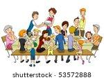 family reunion   vector | Shutterstock .eps vector #53572888