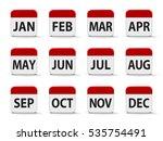 Months Calendar Web Buttons ...