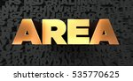 area   gold text on black... | Shutterstock . vector #535770625