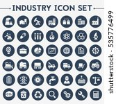 big industry icon set | Shutterstock .eps vector #535776499