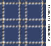 tartan seamless vector patterns ... | Shutterstock .eps vector #535785481