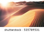 beautiful sand dunes in the... | Shutterstock . vector #535789531