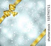 elegant christmas background...   Shutterstock .eps vector #535795711