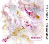 floral abstract background ... | Shutterstock .eps vector #535804111