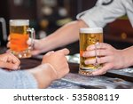 beer and pub. closeup image of... | Shutterstock . vector #535808119