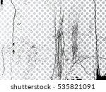 grunge transparent background . ... | Shutterstock .eps vector #535821091