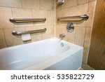 handicapped access bathtub in a ... | Shutterstock . vector #535822729
