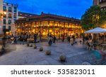 night view of mercado san... | Shutterstock . vector #535823011